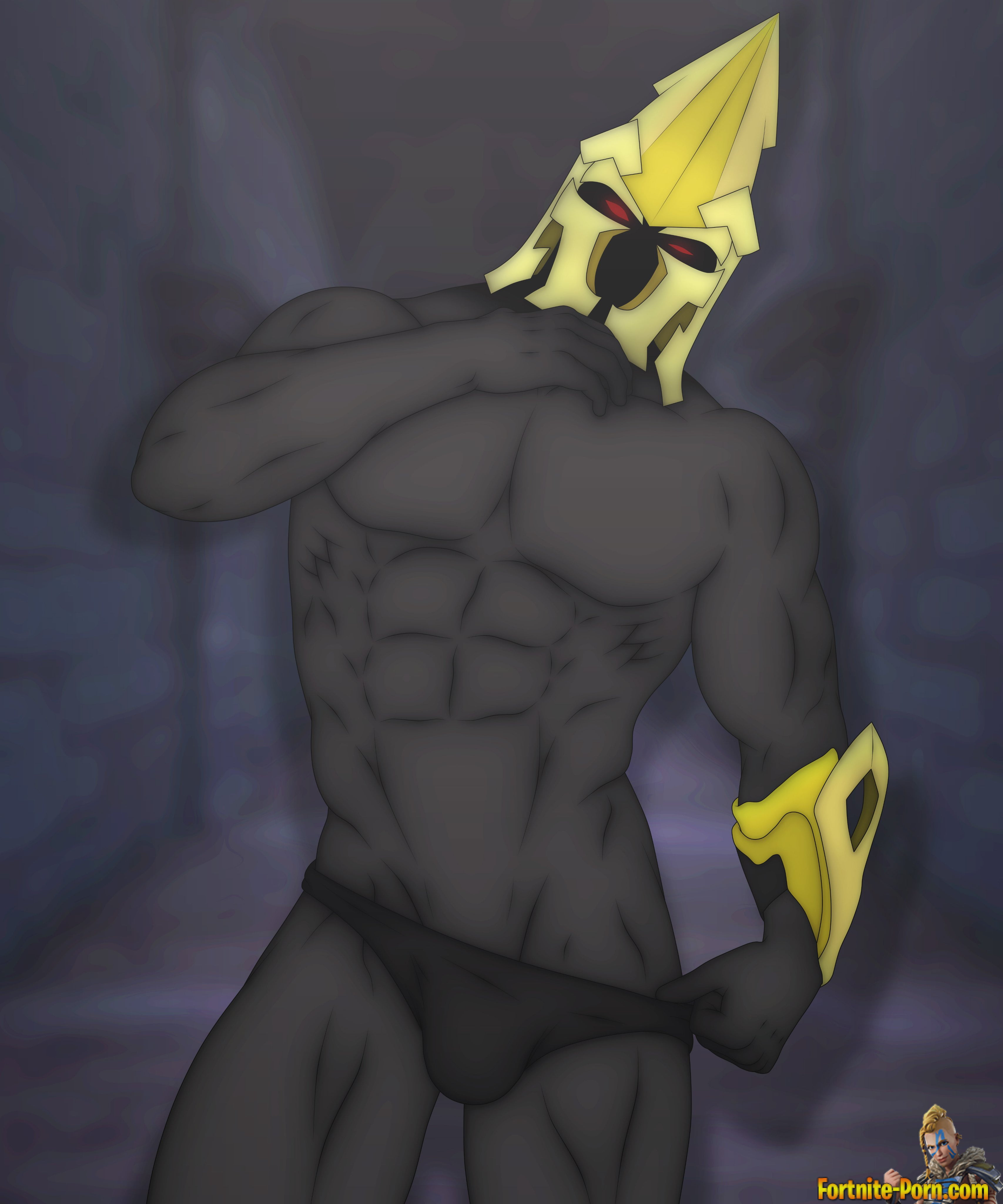Assasin Animated Porn Gay ultima knight with abs stripping • fortnite porn