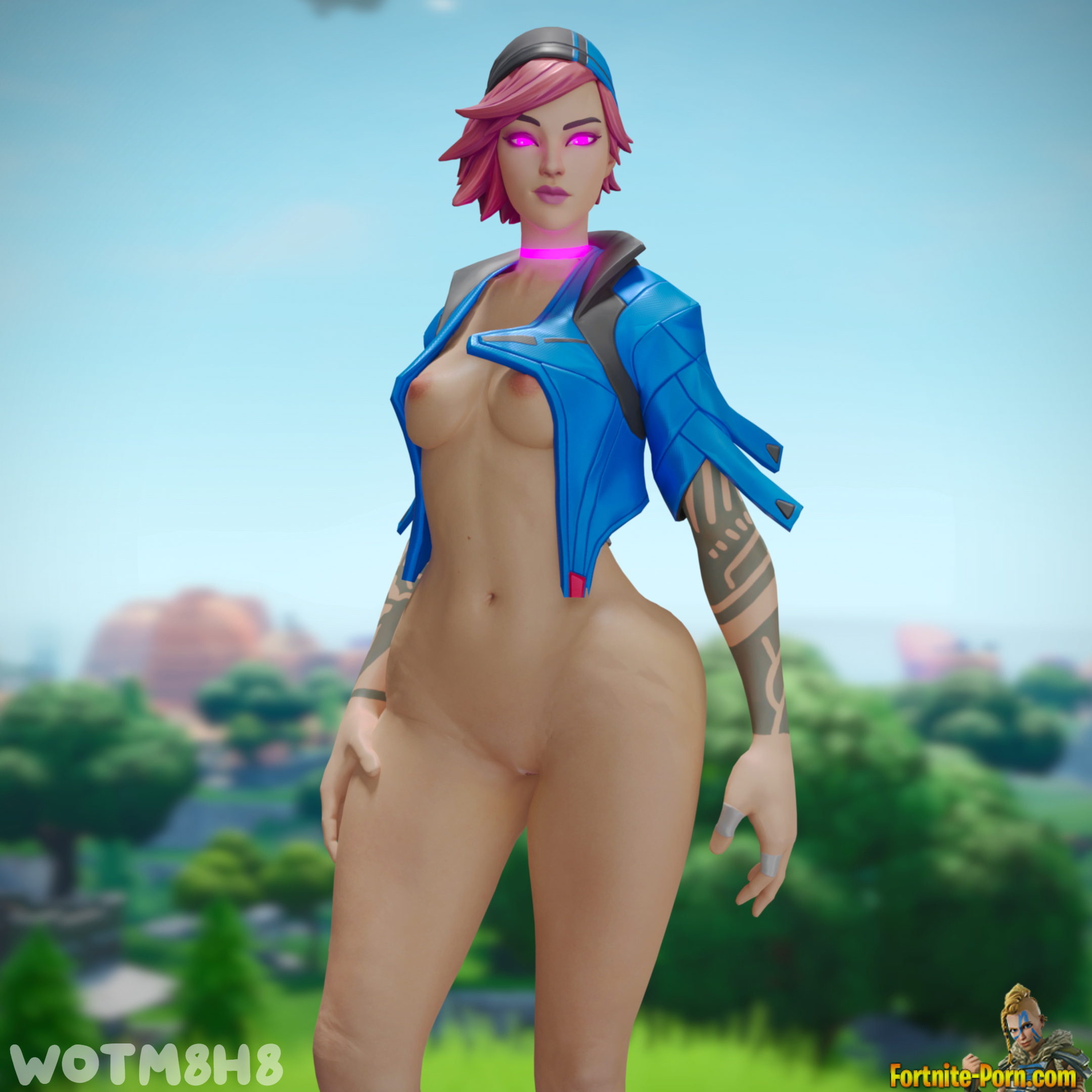 Fortnite Zoey Naked Porn nitebeam nude • fortnite porn