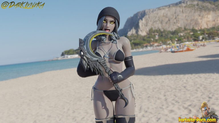 lone is enjoying a day on the beach • Fortnite Porn